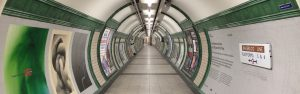 London tube tunnel